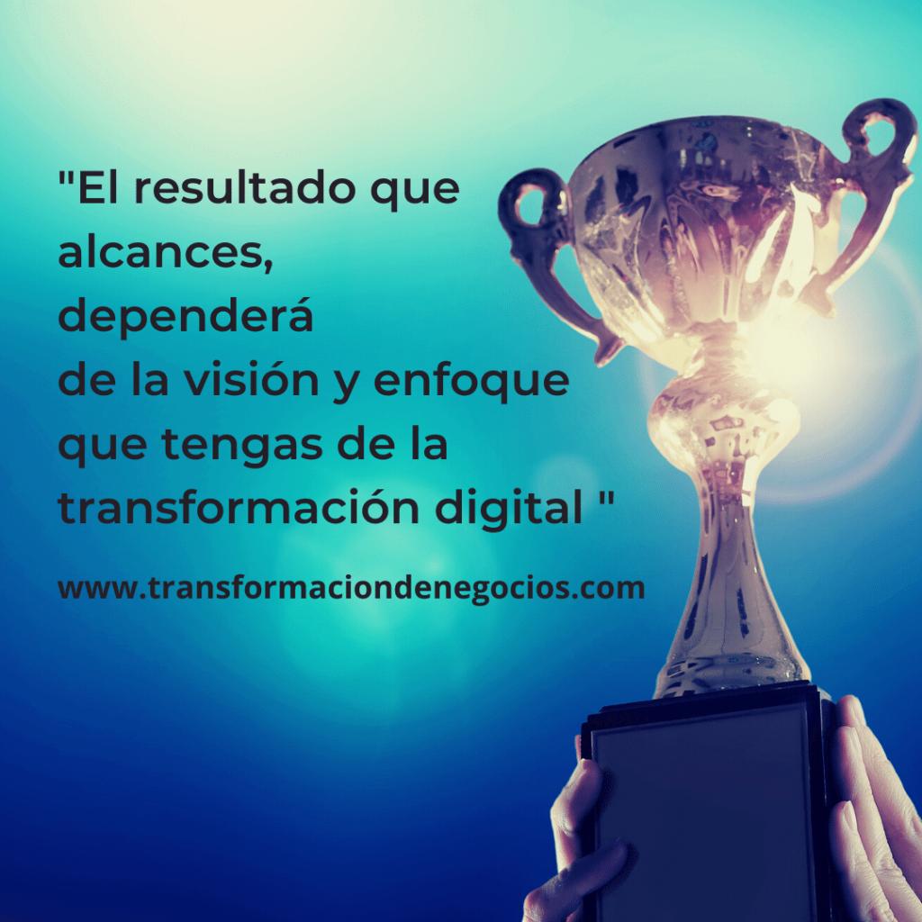 Éxito del proceso de evolución digital